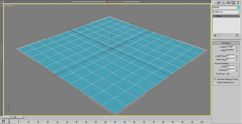Создание плитки в 3d max - junior3d 44