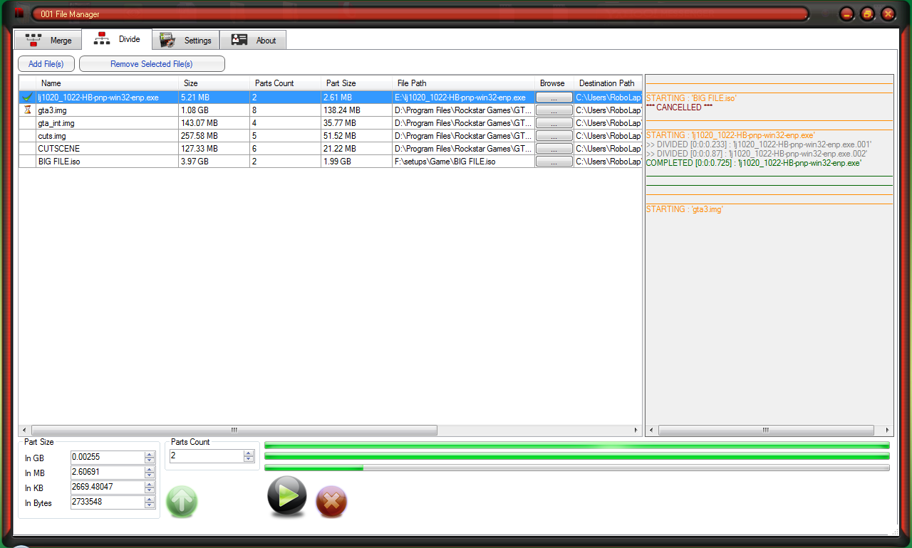 001 File Manager   File - X Squares